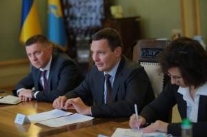Візит Заступника міністра закордонних справ України Євгенія Єніна