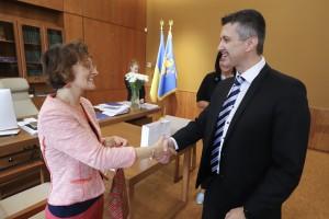 Зустріч з Генеральним консулом Чеської Республіки Павелом Пешеком